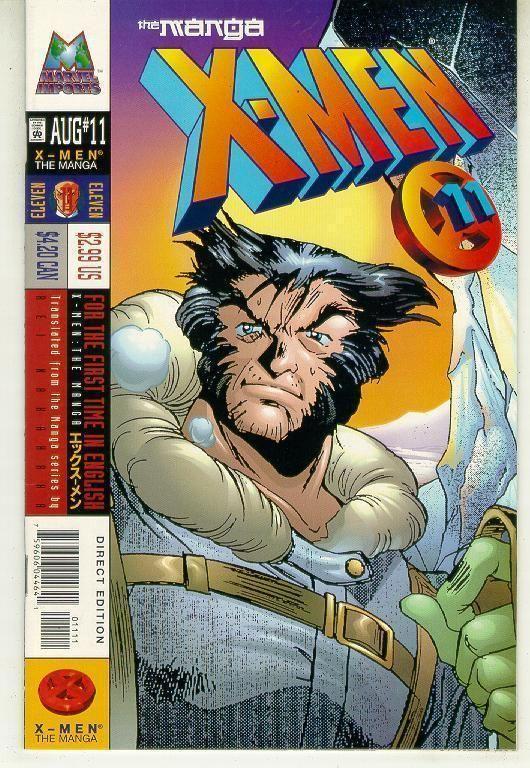 X-MEN: The MANGA #11 (1998) NM!
