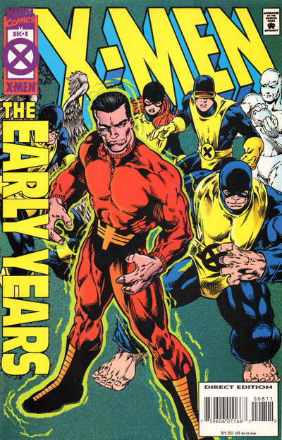 X-MEN: The EARLY YEARS #8 (1994) NM!