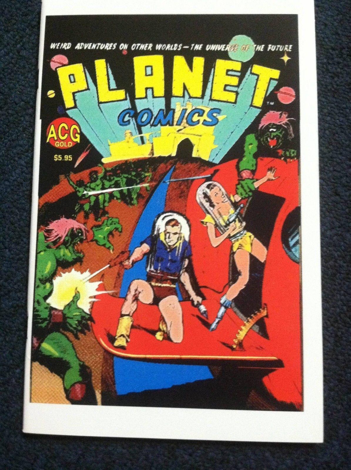 PLANET COMICS #1 (ACG) NM!