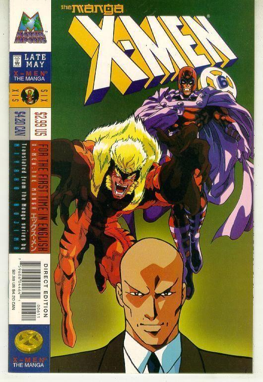 X-MEN: The MANGA #6 (1998) NM!
