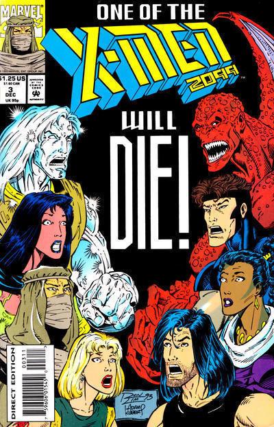 X-MEN 2099 #3 NM!
