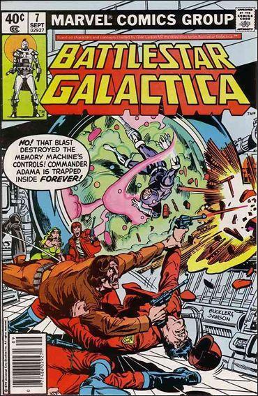 Marvel BATTLESTAR GALACTICA (1979 Series) #7 FN/VF