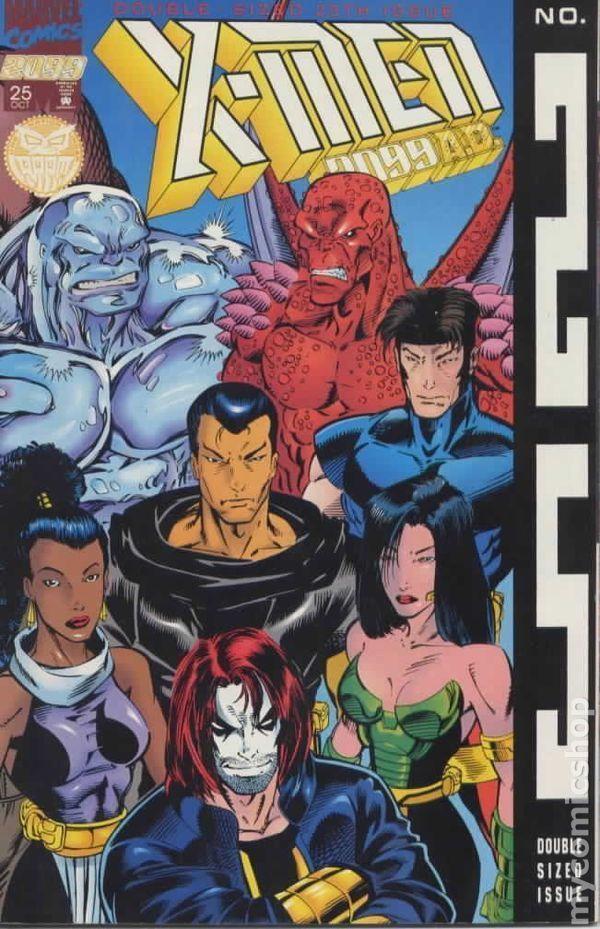 X-MEN 2099 #25 Newsstand NM!