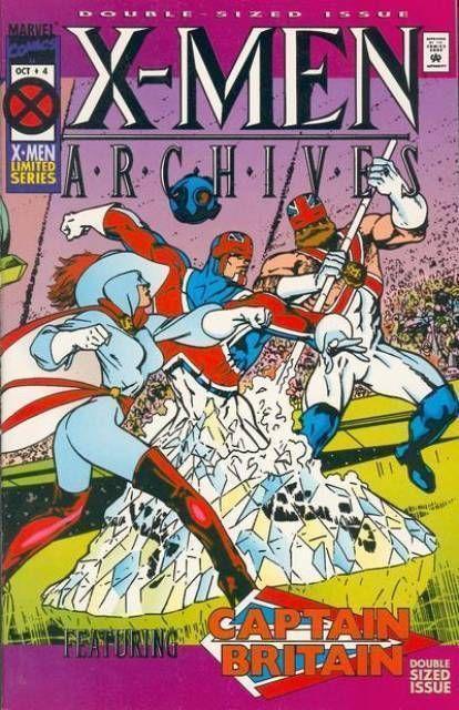 X-MEN ARCHIVES #4 NM!