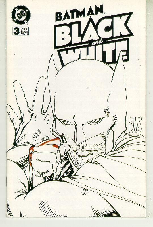BATMAN: BLACK and WHITE #3 (1996 Series) NM!