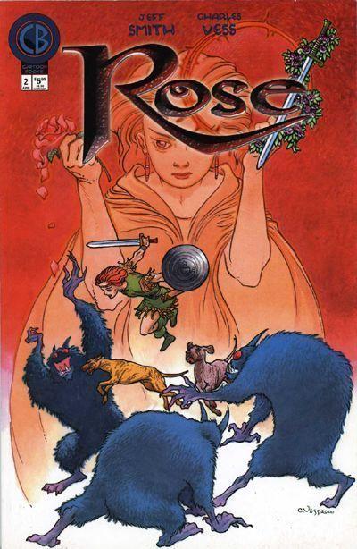 ROSE #2 (Cartoon Books) NM!
