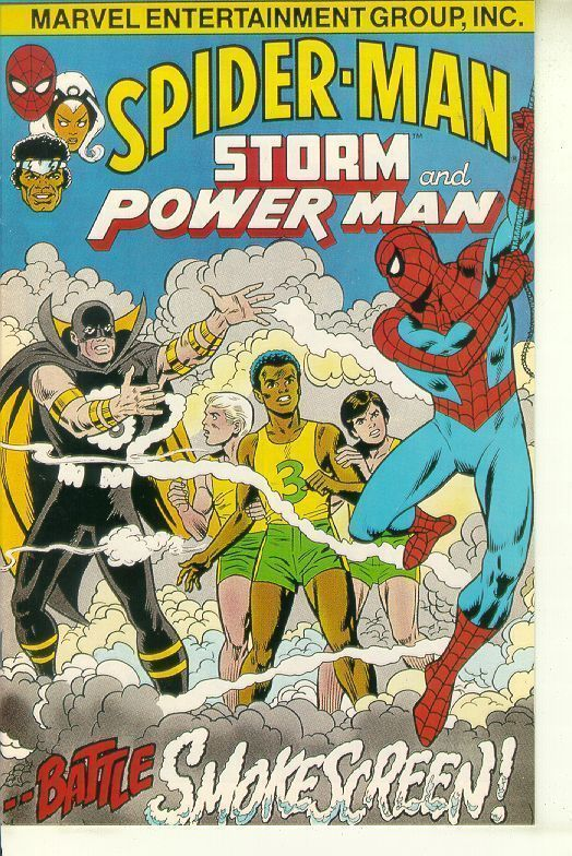 SPIDER-MAN, STORM and POWER MAN (nn) NM!