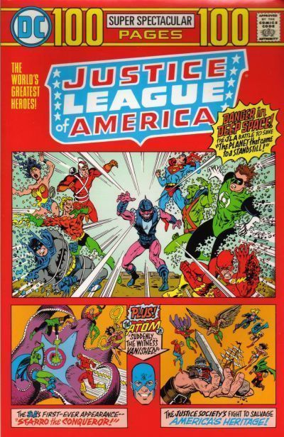 JUSTICE LEAGUE of AMERICA 100 PAGES SUPER SPECTACULAR (nn) (1999) NM!