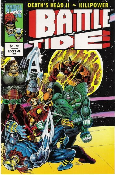 Marvel BATTLETIDE #2 VF/NM