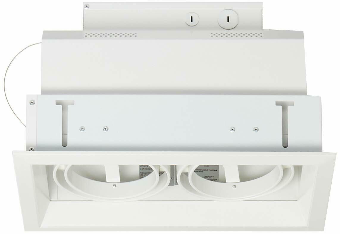 Eurofase TE132 2-Light PAR30 Multiple Recessed Light Fixture, White - $257.53