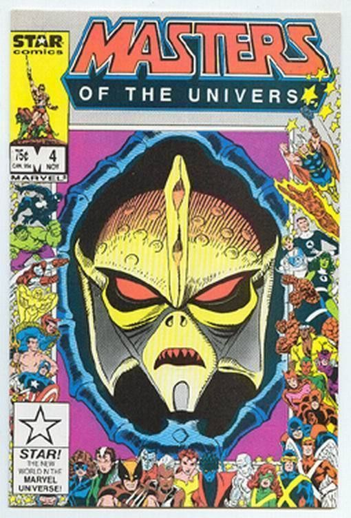 MASTERS of the UNIVERSE #4 (Star Comics, 1986) NM! ~ HE-MAN