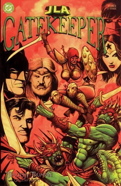 JLA: GATEKEEPER #3 (2000) NM!
