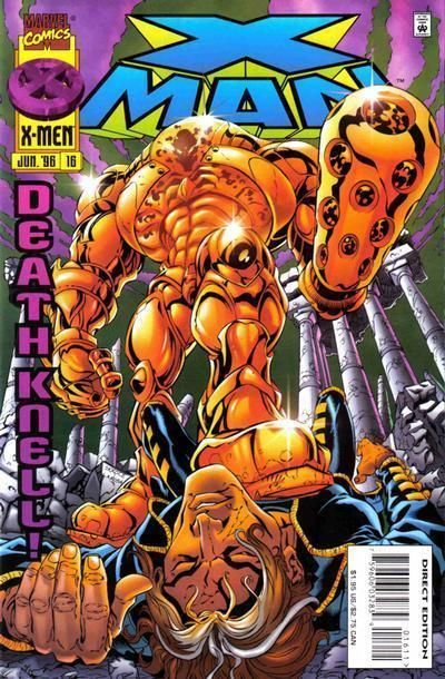 X-MAN #16 NM!