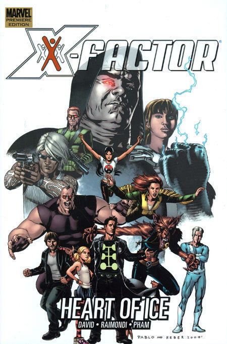 X-Factor Heart of Ice Hardcover