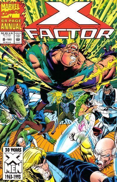 X-FACTOR ANNUAL #8 (1993) NM!