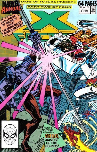 X-FACTOR ANNUAL #5 (1990) NM!