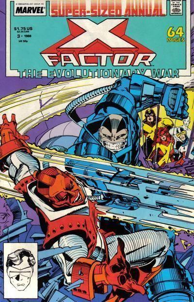 X-FACTOR ANNUAL #3 (1988) NM!