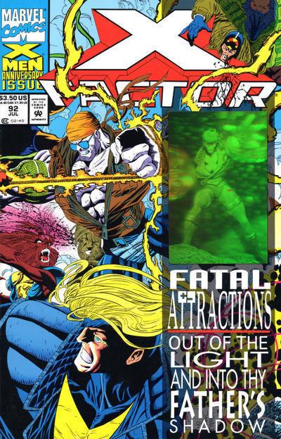 X-FACTOR #92 NM!