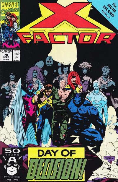 X-FACTOR #70 NM!