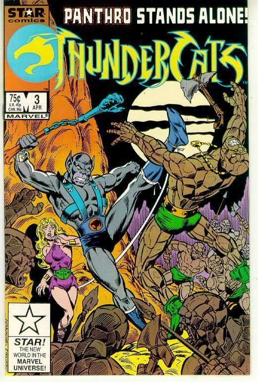 THUNDERCATS #3 (Marvel Comics, 1986) NM!