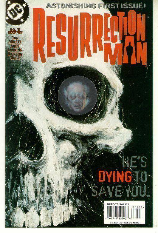 RESURRECTION MAN #1 (1997 Series) NM!