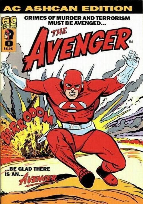 AVENGER #0 (AC Ashcan Edition, 1996) NM!