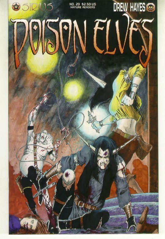 POISON ELVES #23 (Sirius) NM!