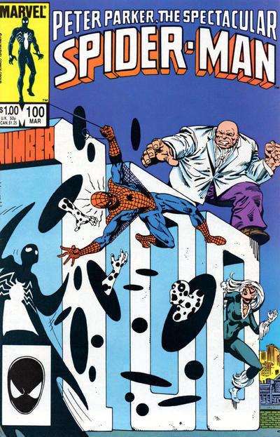 SPECTACULAR SPIDER-MAN #100 (1976 Series) NM!