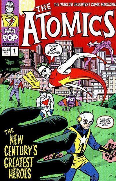 ATOMICS #1 (AAA Pop Comics, 2000) NM! ~ Mike Allred