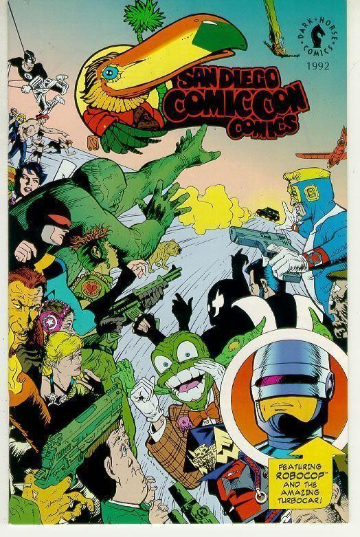 SAN DIEGO COMIC CON COMICS (1992) NM! ~ ROBOCOP!