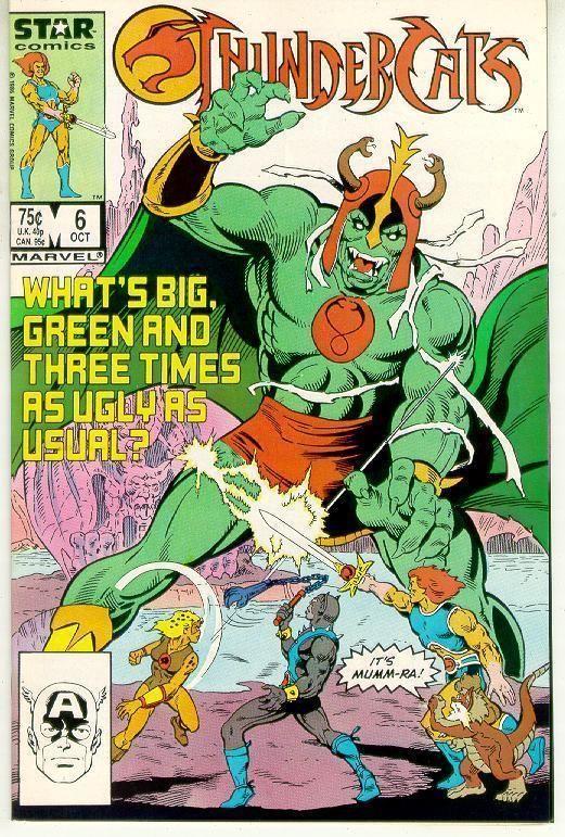 THUNDERCATS #6 (Marvel Comics, 1986) NM!