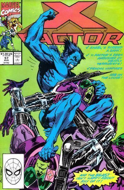 X-FACTOR #57 NM!