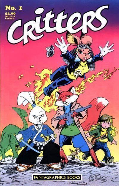 CRITTERS #1 (Fantagraphics, 1986) ~ Usagi Yojimbo