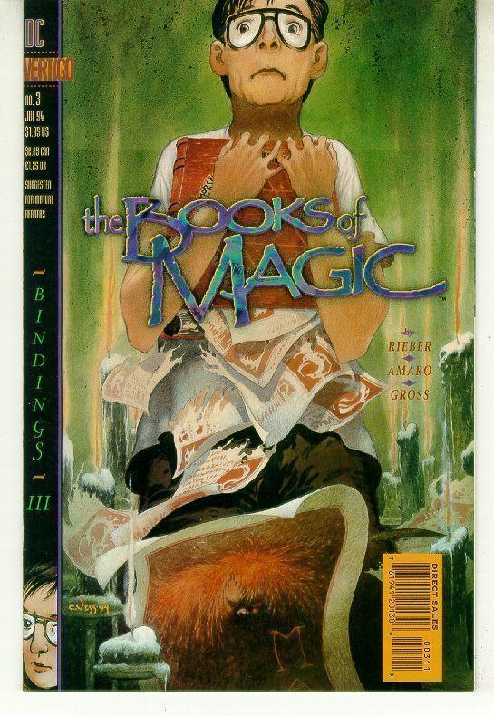 BOOKS of MAGIC #3 (Vertigo) NM!