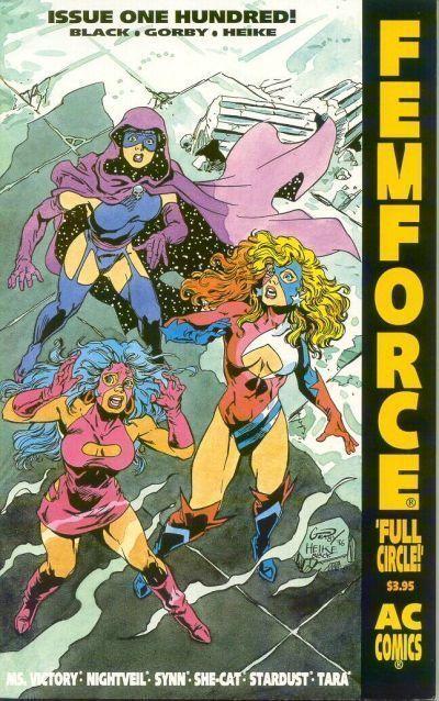 FemForce #100 (Americomics) NM!