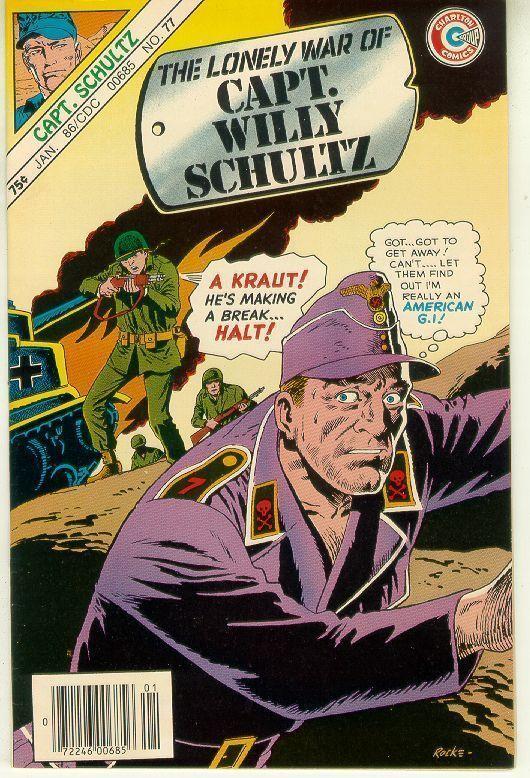 CAPT. WILLY SCHULTZ #77 (Charlton Comics, 1986) NM!