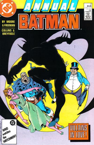 BATMAN ANNUAL #11 (1987) NM! ~ Alan Moore
