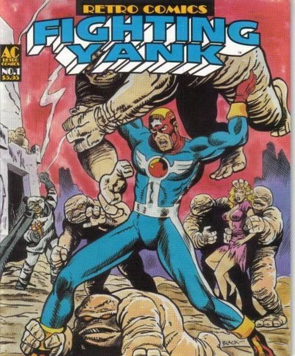 FIGHTING YANK RETRO COMICS #1 (AC Comics, 1997) NM!