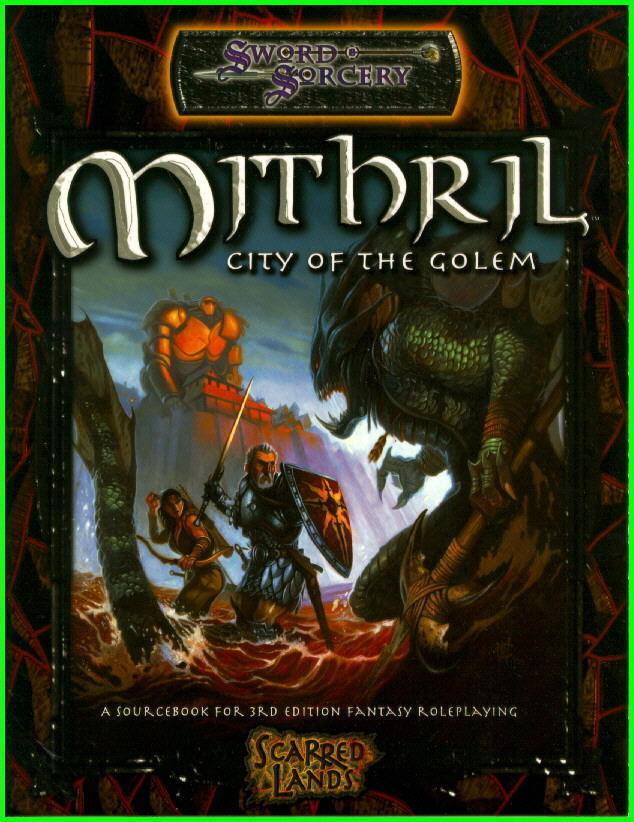 Sword & Sorcery (D&D) Mithril City of the Golem