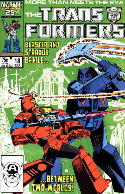 TRANSFORMERS #18 (Marvel Comics) NM!