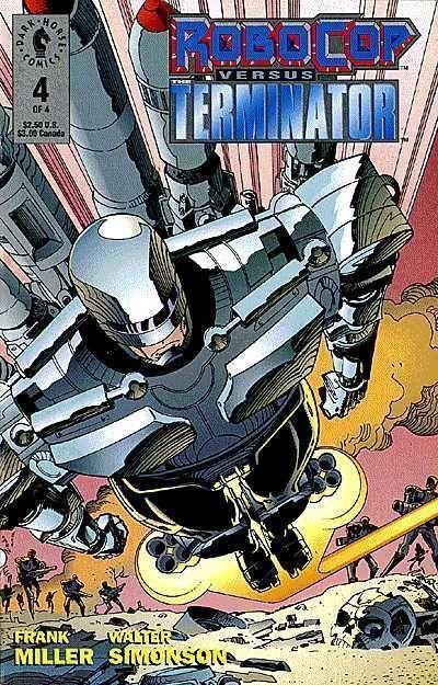 ROBOCOP versus TERMINATOR #4 (Dark Horse Comics) NM!