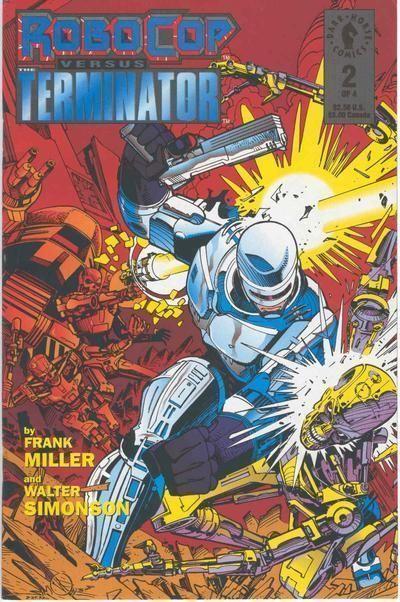 ROBOCOP versus TERMINATOR #2 (Dark Horse Comics) NM!