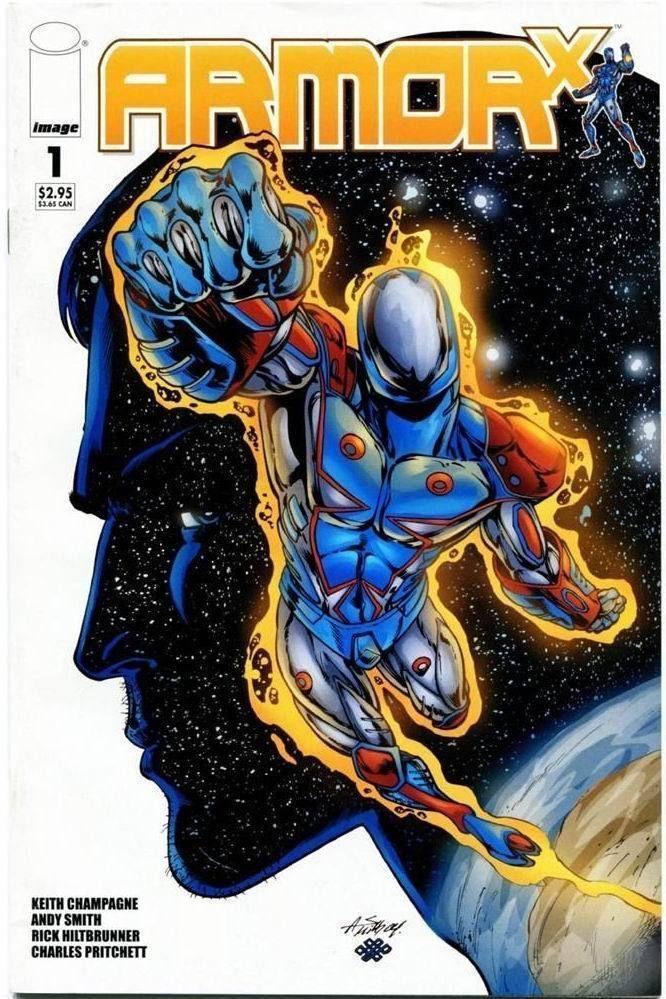ARMOR X #1 (Image Comics) NM!