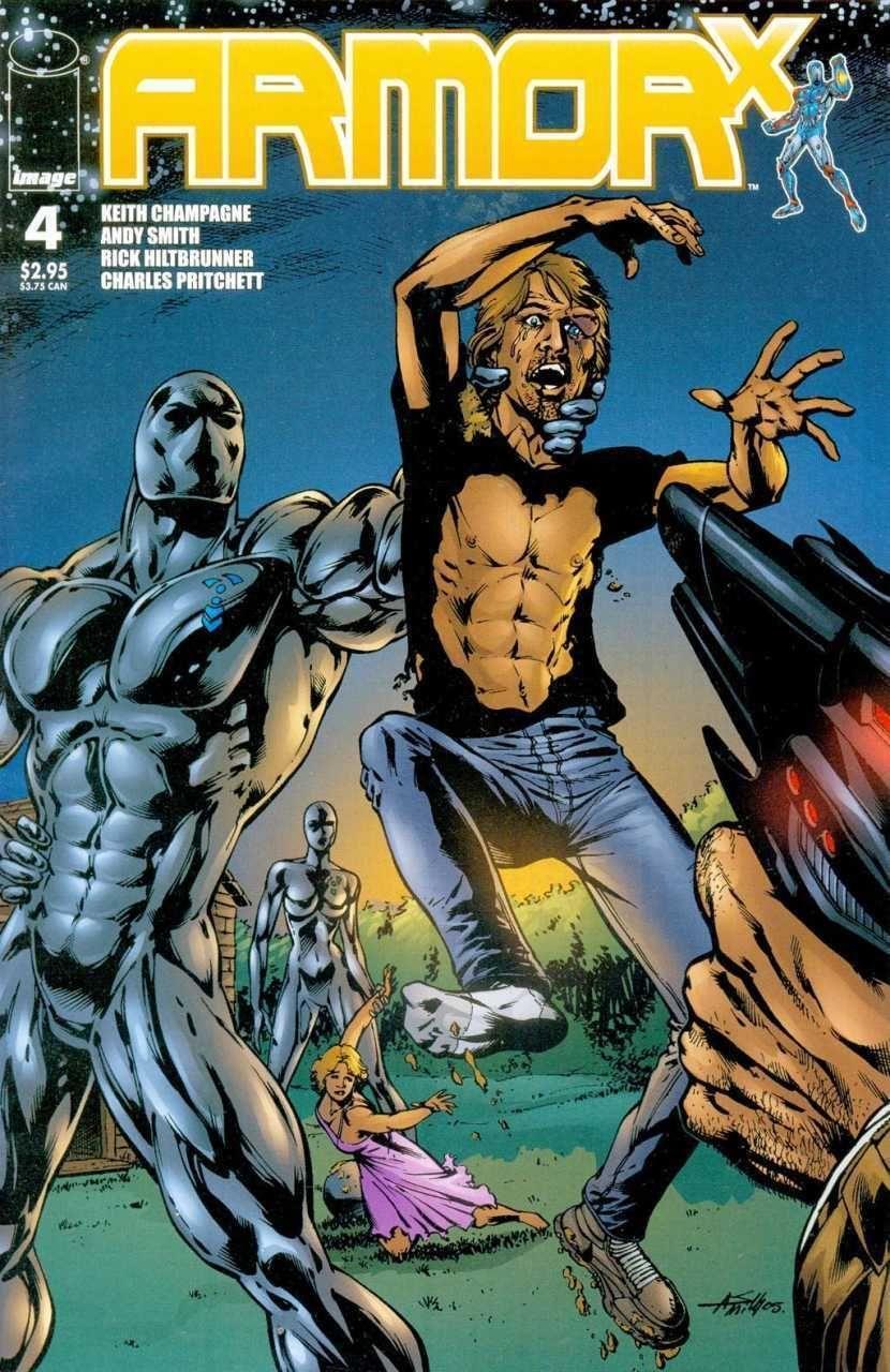 ARMOR X #4 (Image Comics) NM!