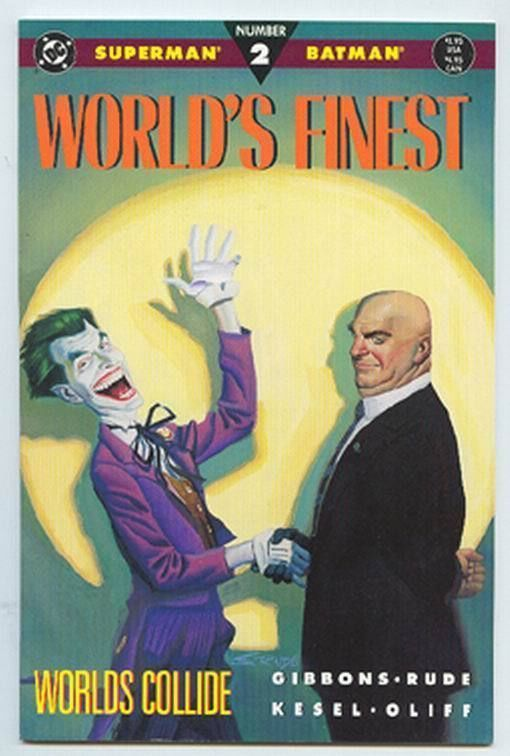 WORLD'S FINEST #2 (1990) NM! ~ Superman & Batman