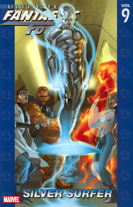 Ultimate Fantastic Four Vol. 9 Silver Surfer Trade Paperback