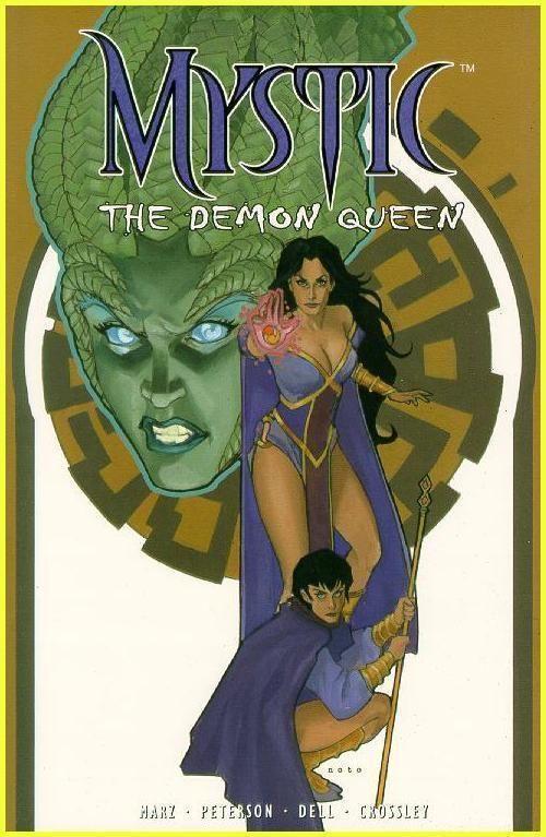 Mystic Vol. 2 The Demon Queen Trade Paperback