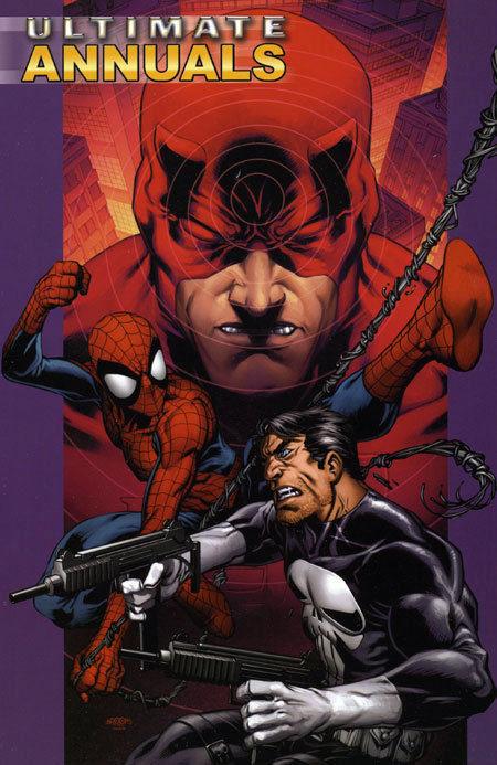 Ultimate Annuals Vol. 2 Trade Paperback ~ Spider-man - Daredevil - Punisher