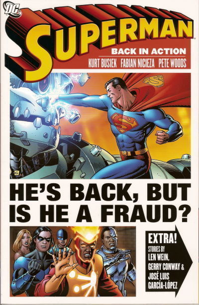 Superman Back In Action Trade Paperback