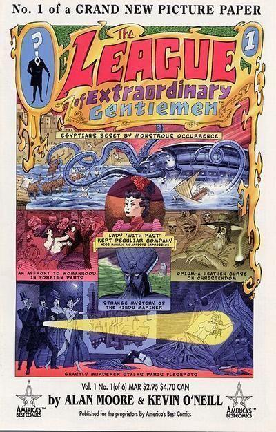 LEAGUE of EXTRAORDINARY GENTLEMEN #1 (America's Best Comics) NM! ~ Alan Moore